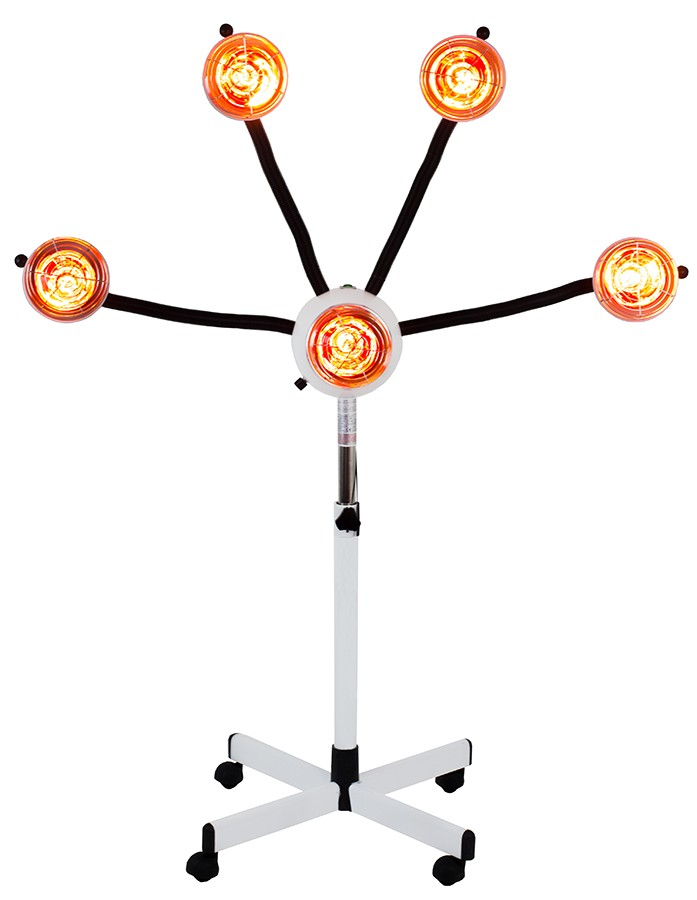 5 HEAD INFRA RED LAMP WITH FLEXIBLE ARMS - Lamps and ... - photo#37